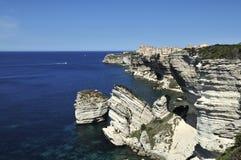 Bonifacio, Corse, Frankreich stockfotos