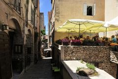 Bonifacio, Corse, Frankreich stockbild