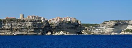Bonifacio, Corse, Frankreich lizenzfreies stockfoto