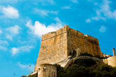 Bonifacio, Corsica. Old town Bonifacio in Corsica. Summer in corsica Royalty Free Stock Photo