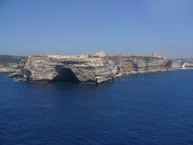 Bonifacio - Corsica Royalty-vrije Stock Foto
