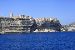 Bonifacio - Corsica Royalty-vrije Stock Foto's