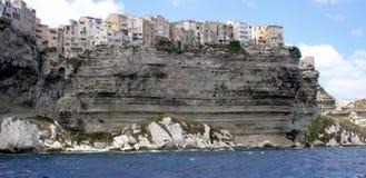 Bonifacio corsica. The city of Bonifacio, Corsica, France Stock Photos