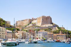 bonifacio Corsica Zdjęcie Stock