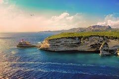 Bonifacio, Corsica fotografia stock