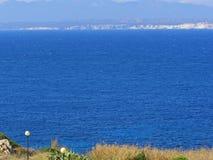 Bonifacio and Corsica - France Stock Image