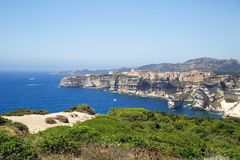 Bonifacio, Corsica, France Stock Image
