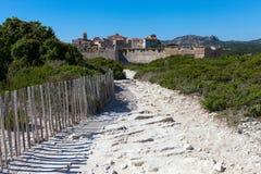Bonifacio, Corsica, France. Royalty Free Stock Photos