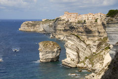 Bonifacio Corsica Frankrijk royalty-vrije stock foto