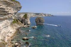 Bonifacio Corsica Frankrijk Royalty-vrije Stock Afbeeldingen