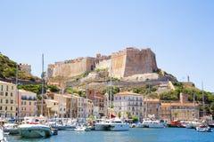 Bonifacio, Corsica Stock Photo