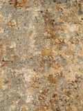 Bonifacio fortification wall plaster stock photo