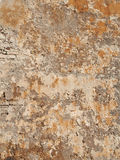 Bonifacio fortification wall plaster, Corsica. Ocher plaster on Bonifacio medieval fortification walls Stock Images