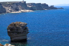 Bonifacio, grain de sable photo libre de droits
