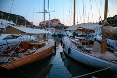 Bonifacio Harbour Stock Image