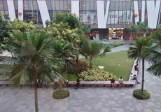 Bonifacio High Street Mall Royalty Free Stock Photography