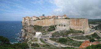 Bonifacio on the island Corsica Royalty Free Stock Image
