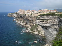 Bonifacio on the island Corsica Royalty Free Stock Images