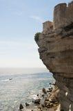 Bonifacio Küste am Sonnenuntergang Lizenzfreie Stockbilder