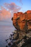 Bonifacio, Korsika Stockfotografie
