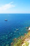 Bonifacio, Korsika Stockbilder
