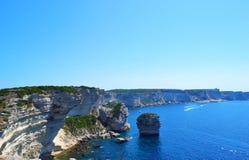 Bonifacio, Korsika Stockfoto