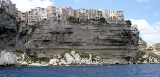 Bonifacio Korsika Stockfotos