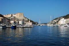 Bonifacio Korsika Lizenzfreies Stockfoto