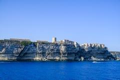 Bonifacio Korsika Stockbilder