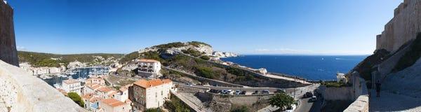 Bonifacio Korsika, Corse, Corse-du-Sud som är södra, Frankrike, Europa, ö Arkivbild