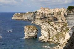 Bonifacio Korsika Frankreich Lizenzfreies Stockfoto