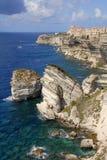 Bonifacio Korsika Frankreich Stockfotos