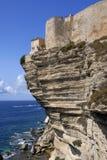 Bonifacio Korsika Frankreich Stockfotografie
