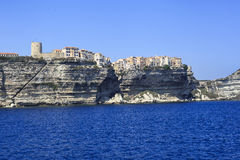 Bonifacio - la Corse Photos libres de droits