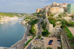 Bonifacio Marina Royalty Free Stock Photography