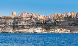 Bonifacio, mountainous island Corsica, France Stock Photos