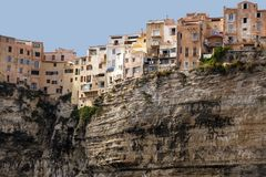 Bonifacio old city Stock Images