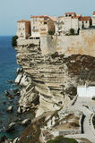 Bonifacio old town, Corsica Royalty Free Stock Photo