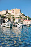 Bonifacio - Picturesque Capital of Corsica, France Stock Photo