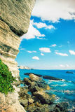 Bonifacio - Picturesque Capital of Corsica, France Stock Photos