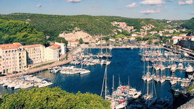 Bonifacio - PicturesqueCapital Of Corsica, France Royalty Free Stock Photography