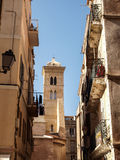 Bonifacio streets Stock Photography