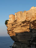 Bonifacio at sunrise, Corsica, France Royalty Free Stock Image
