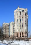 Boning komplex Mega ÑаÑÑÑ i Almaty Royaltyfri Bild