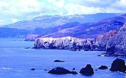 bonita海岸线点 库存照片