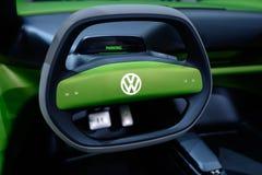 Bonito como um erro: Volkswagen mim d Conceito com erros fotografia de stock
