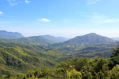 Bonito da opinião da paisagem da montanha Fotografia de Stock Royalty Free