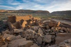 Bonito do povoado indígeno, parque nacional da garganta de Chaco Foto de Stock Royalty Free