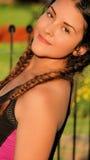 Bonito femenino adolescente hermoso Imagen de archivo