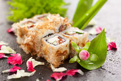 Bonito Sushi Rolls Royalty Free Stock Photo